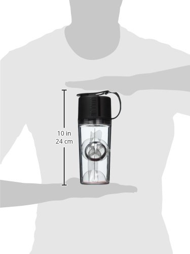 UMORO ONE V2 – The Ultimate Protein Shaker & Water Bottle (Midnight Black)