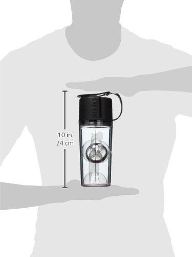 UMORO ONE V2 - La proteína último Shaker y la botella de agua (Negro...