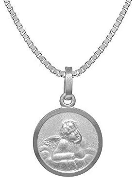 trendor Silberkette mit Schutzengel-Anhänger für Kinder 73143