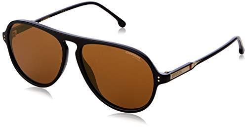 Carrera Unisex-Erwachsene 198/S Sonnenbrille, Mehrfarbig (Black), 57