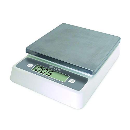 "CDN SD1112 Pro Accurate Digital Portion Control Scale - 11 lb 2.19"" Height 9.72"" Width 7.48"" Length"