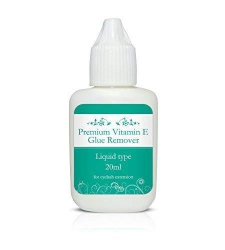 Premium Liquide Dissolvant De Colle Avec Vitamine E 10/20ml - Extensions De Cils - 10g
