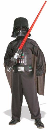 Rub -Star Wars Kinder Kostüm Darth Vader Overall Maske Gr. S 3 bis 4 Jahre