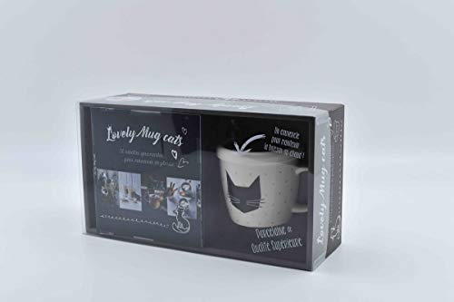 Lovely mug cats masque