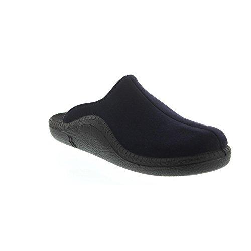 Romika, Herren - Hausschuhe, Mokasso 299, ( 540 Jeans ) 7109978540 Blau (Jeans)