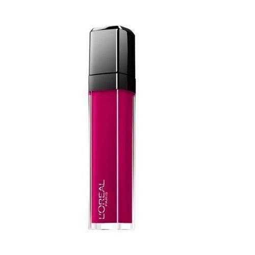 L'Oréal Paris Lippen Make-up Infaillible Le Gloss Matte, 407 smoke me up/Lipgloss für volle und...