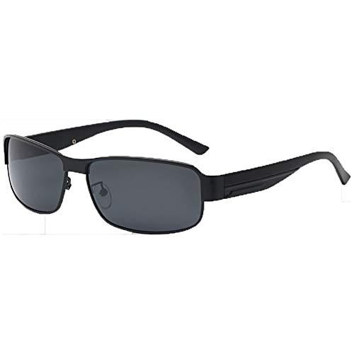 SJZV Sonnenbrillen für Männer Polarisierte Leichte Metallrahmen Geeignet für Drive-Reisen