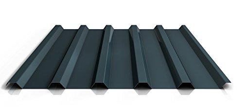 Trapezblech | Profilblech | Dachblech | Profil PS35/1035TR | Material Stahl | Stärke 0,75 mm | Beschichtung 25 µm | Farbe Anthrazitgrau