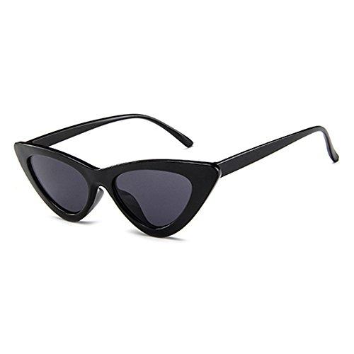 BLDEN Mujer Gfas De Sol Gafas Gato Ojos Polarized,Retro Moda Estilo Vintage Gafas Para Mujer GL1002-B-B