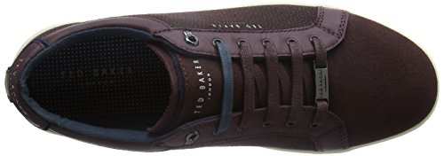 Ted Baker Ternur, Sneakers Basses Homme Rouge (Dark Red)