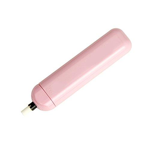 Sipliv elektrisch tragbarer, tragbarer Radiergummi mit 20 Radiergummi-Minen, pink