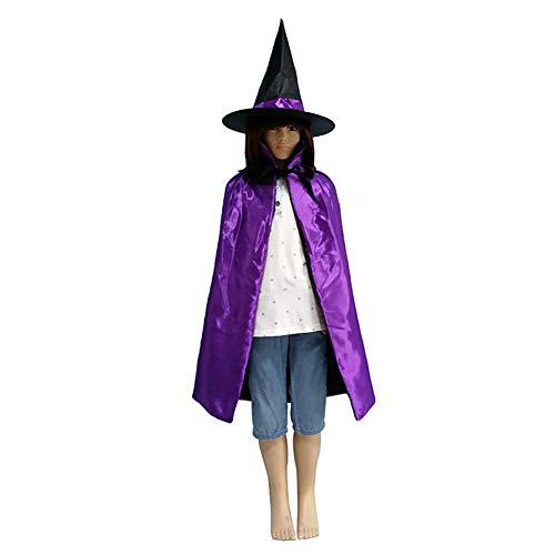 Symbat Halloween Hexe Hut Kostüm Party Glitter Sterne -