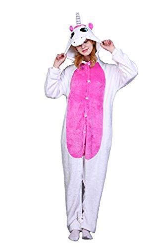 ABYED Kigurumi Pijama Animal Entero Unisex para Adultos Niños con Cap