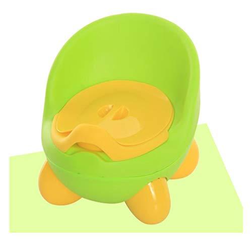 LLRDIAN Toilette extra-large pour enfants toilet Toilette bébé pour bébé fille ▎ Toilette pour petit enfant ur Urinoir en pot (Couleur : Green)