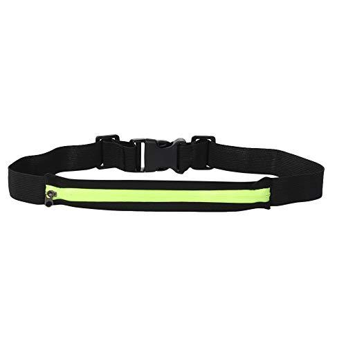 Godatila Running Belt/Stretch-Sportgürtel/Fitnessgürtel/Outdoor Sweatproof reflektierende Taille Gürteltasche Outdoor-Taschen für das Tragen von Schlüsseln, Handys, Karten und Bargeld -