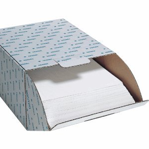 Herma 7569 Fotophan Fotokarton weiß (230 x 297 mm) 250 Blatt, mit Schutzblatt u. Eurolochung, beidseitig gestaltbar, für alle Herma Ringalben und Foto-Ordner