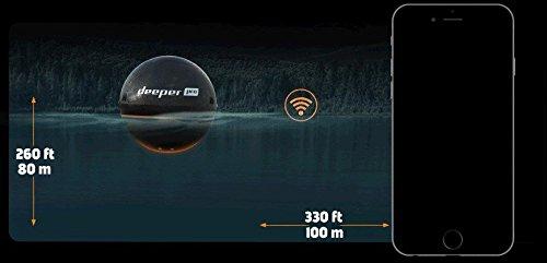 Deeper 4779032950244 Smart Sonar Pro Fischfinder - 11