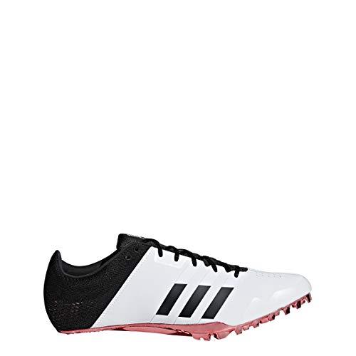 adidas Adizero Finesse Spike Schuh Unisex Track Field White, (White-core Black-Shock Red), 42 EU -