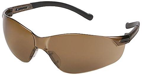 ERB 17057Inhibitor NXT Schutzbrille mit grau tempel & Grau Objektiv (12Pack)