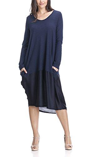 laura-moretti-robe-t-shirt-avec-poches
