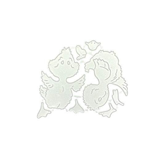 Scrapbooking Stanzschablone Stanzen Schneiden Schablonen Stanzformen, für Sizzix Big Shot/Cricut Cuttlebug/und andere Stanzmaschine URIBAKY