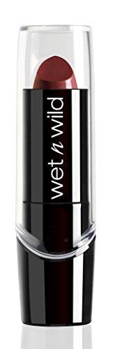 Wet n Wild Silk Finish Lipstick, Dark Wine, 3.6g Lipsticks at amazon