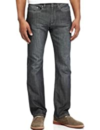 KENNETH COLE REACTION MEN'S JEANS INDIGO BLUE STRAIGHT FIT JEANS INDIGO