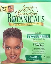 Soft and Beautiful Botanicals Texturizer-Coarse Hair