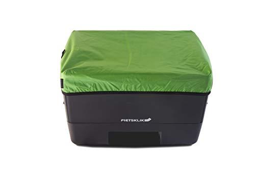 Fietsklik Abdeckung Abdeckungshaube Abdeckungsplane für die Crate Fahrradbox in der Farbe grün - Praktisch und wasserabweisend