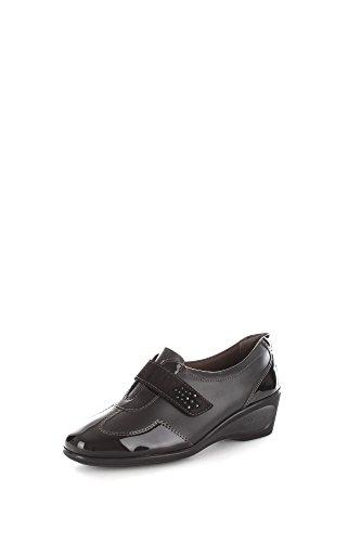 Melluso K90256 Sneakers Donna Pelle Nero Nero 39