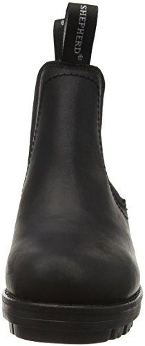 Shepherd Cissi Outdoor, Bottes Classiques femme Noir - Black (Black 10)