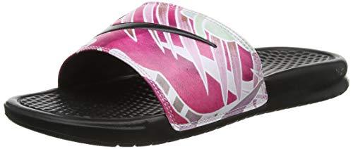 Nike Wmns Benassi JDI Print, Zapatos de Playa y Piscina para Mujer,...