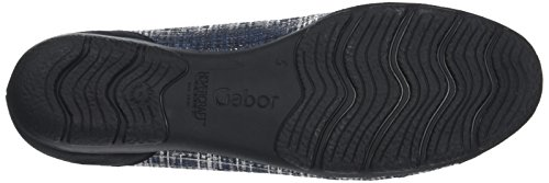Gabor Fashion, Ballerines Femme Bleu (jeans/nightblue 36)