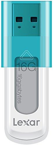 Lexar JumpDrive S50 USB 2.0 16GB Pen Drive (White & Blue)