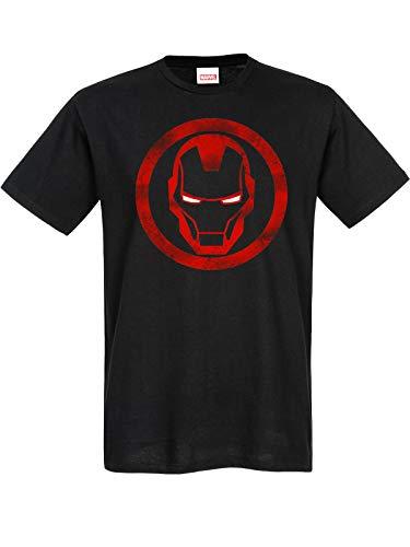 Iron Man Sign T-Shirt schwarz L
