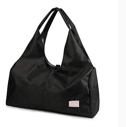 Yoga-Matten-Taschen für Fitness-Sack De Sport, trocken nass Sporttasche, Schultertraining, Gymtas, Bolsa Deporte, Handtaschen Bolsa XA616WA, Schwarz