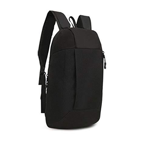 BHYDRY sport zaino escursionismo zaino uomini donne unisex schoolbags borsa(20 * 40 * 12cm,Nero)