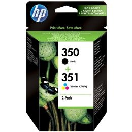Hp no.350/351 value pack ink cartridge - multicolour