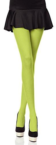 Merry Style Bunte Damen Strumpfhose Microfaser 40 DEN (Grasgrün, 3 ()