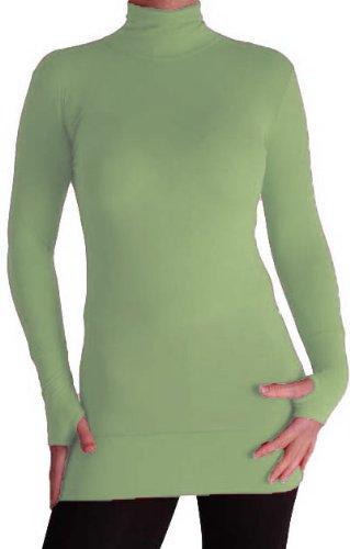 EyeCatchClothing - Damen stretch Rolli mit geringem Gewicht Mint Grun M/L (Mint Gewichte)