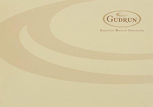 Gudrun L'Heritage Red Foil Aida einzelne Schokoladen (Milchschokoladenherz mit einer Cremefüllung) 1000g (Packung mit 76 Schokoladen), 1er Pack (1 x 1 kg)