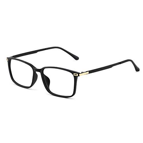 55cb6a5194 OCCI CHIARI Monture de lunettes rectangulaire style TR90 Frame jambe en  métal sans ordonnance lunettes de