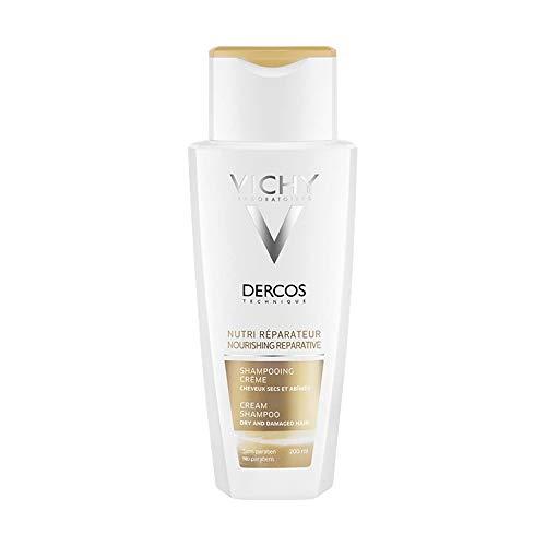 Dercos Shampoo-crema nutri-riparatore di Vichy, Shampoo Unisex - Flacone 200 ml