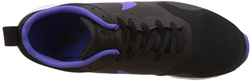 Nike Junior Air Pegasus+ 28 Chaussure De Course à Pied Negro / Morado / Blanco (Black/Persian Violet-White)