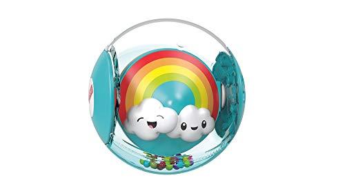 Fisher-Price GJF68 - Regenbogenball, Babyspielzeug mit 2 Spielmöglichkeiten ab 9 Monaten