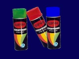 SparVar 6003108 Neon Leuchtspray/Markierungsfarbe 400ml weiß