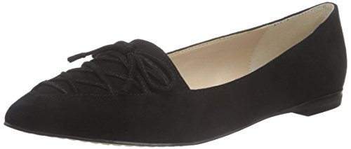 French Connection Gesine, Ballerine Donna Nero (Nero (Black 001))