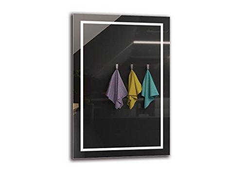 Espejo LED Premium   Dimensiones Espejo 40x60 cm