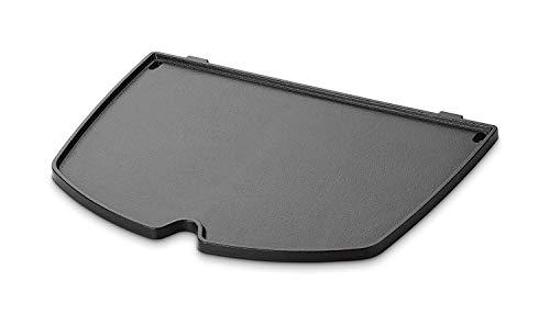 GFTIME 6559 Plancha en Fonte pour Weber Barbecue Pièces Détachées Accessoire pour Weber Q200, Q2000 Séries Modèles de Grill