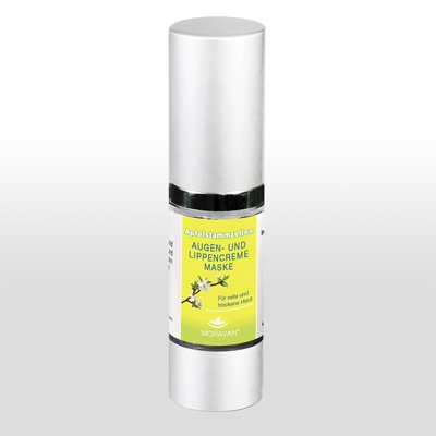 moravan Pomme cellules souches Masque Crème Yeux & Lèvres 15 ml